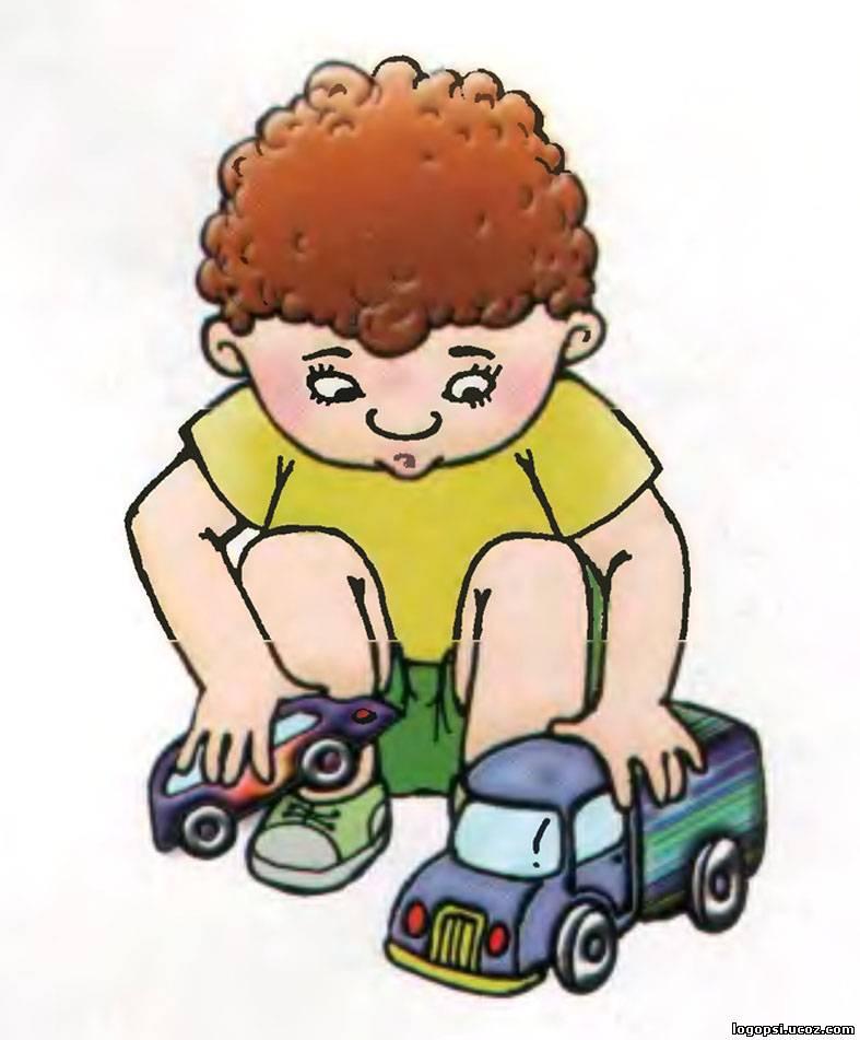 Играющий мальчик