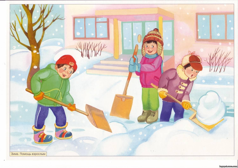 """сюжетные картинки зима"""" — card of the user Светлана Калининская in ..."""